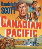 Canadian Pacific - Blu-Ray movie cover (xs thumbnail)