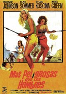 Deadlier Than the Male - Spanish Movie Poster (xs thumbnail)