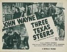 Three Texas Steers - Re-release poster (xs thumbnail)