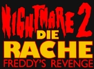 A Nightmare On Elm Street Part 2: Freddy's Revenge - German Logo (xs thumbnail)