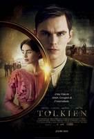Tolkien - Portuguese Movie Poster (xs thumbnail)
