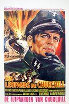 I Leopardi di Churchill - French Movie Poster (xs thumbnail)