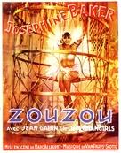 Zouzou - French Movie Poster (xs thumbnail)