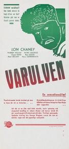 The Wolf Man - Swedish Movie Poster (xs thumbnail)