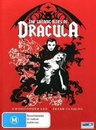 The Satanic Rites of Dracula - Australian Movie Cover (xs thumbnail)