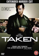 Taken - British DVD cover (xs thumbnail)
