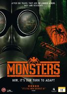 Monsters - Danish DVD movie cover (xs thumbnail)