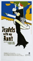 Travels with My Aunt - Theatrical movie poster (xs thumbnail)