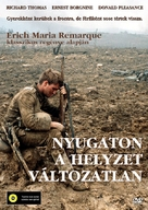 All Quiet on the Western Front - Hungarian Movie Cover (xs thumbnail)