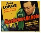 Mysterious Mr. Moto - Movie Poster (xs thumbnail)