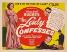 The Lady Confesses - Movie Poster (xs thumbnail)