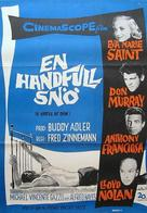 A Hatful of Rain - Swedish Movie Poster (xs thumbnail)