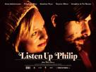 Listen Up Philip - British Movie Poster (xs thumbnail)