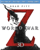 World War Z - Blu-Ray movie cover (xs thumbnail)