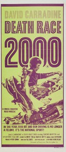 Death Race 2000 - Australian Movie Poster (xs thumbnail)