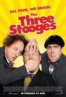 The Three Stooges - British Movie Poster (xs thumbnail)