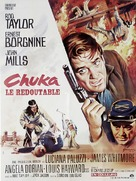 Chuka - French Movie Poster (xs thumbnail)