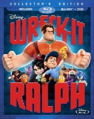 Wreck-It Ralph - Blu-Ray movie cover (xs thumbnail)