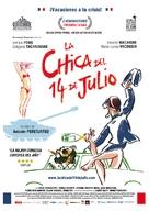 La fille du 14 juillet - Spanish Movie Poster (xs thumbnail)