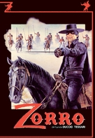 Zorro - German DVD cover (xs thumbnail)