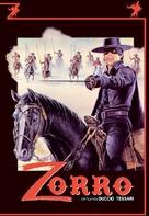 Zorro - German DVD movie cover (xs thumbnail)