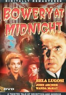 Bowery at Midnight - DVD movie cover (xs thumbnail)