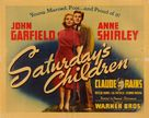 Saturday's Children - Movie Poster (xs thumbnail)