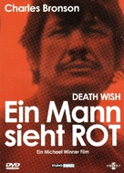 Death Wish - German DVD cover (xs thumbnail)