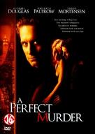 A Perfect Murder - Dutch DVD movie cover (xs thumbnail)