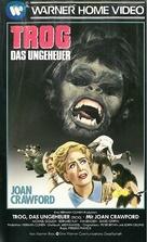 Trog - German VHS movie cover (xs thumbnail)