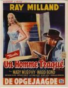 A Man Alone - Belgian Movie Poster (xs thumbnail)