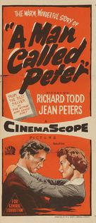 A Man Called Peter - Australian Movie Poster (xs thumbnail)