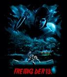 Friday the 13th - German poster (xs thumbnail)