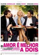L'amour, c'est mieux à deux - Portuguese Movie Poster (xs thumbnail)