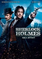 Sherlock Holmes: A Game of Shadows - Czech Movie Cover (xs thumbnail)