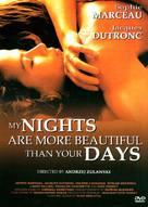Mes nuits sont plus belles que vos jours - DVD cover (xs thumbnail)