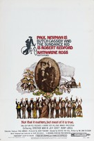 Butch Cassidy and the Sundance Kid - Movie Poster (xs thumbnail)