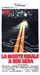 La morte risale a ieri sera - Italian Movie Poster (xs thumbnail)