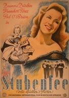 His Butler's Sister - German Movie Poster (xs thumbnail)