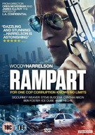 Rampart - British DVD cover (xs thumbnail)