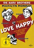 Love Happy - German DVD cover (xs thumbnail)