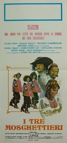 The Three Musketeers - Italian Movie Poster (xs thumbnail)
