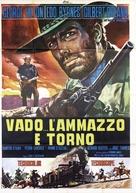 Vado... l'ammazzo e torno - Italian Movie Poster (xs thumbnail)