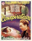 The Conspirators - Belgian Movie Poster (xs thumbnail)