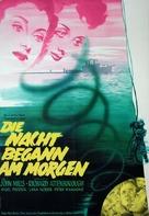 Morning Departure - German Movie Poster (xs thumbnail)
