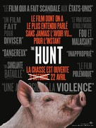 The Hunt - French Movie Poster (xs thumbnail)
