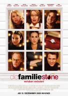 The Family Stone - German Movie Poster (xs thumbnail)