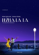 La La Land - Slovenian Movie Poster (xs thumbnail)