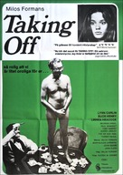 Taking Off - Swedish Movie Poster (xs thumbnail)