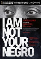 I Am Not Your Negro - Spanish Movie Poster (xs thumbnail)
